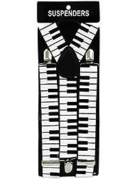 Hosenträger Piano Muster