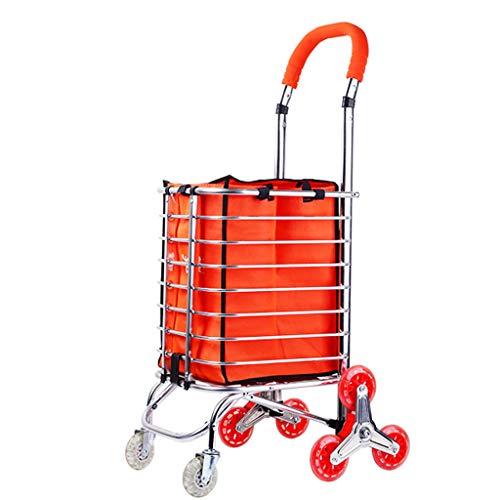 Einkaufswagen Alter Mann Kaufen Lebensmittel Warenkorb Kleiner Warenkorb Treppensteigen Handwagen Klappwagen Trolley Auto Nach Hause Kinderwagen