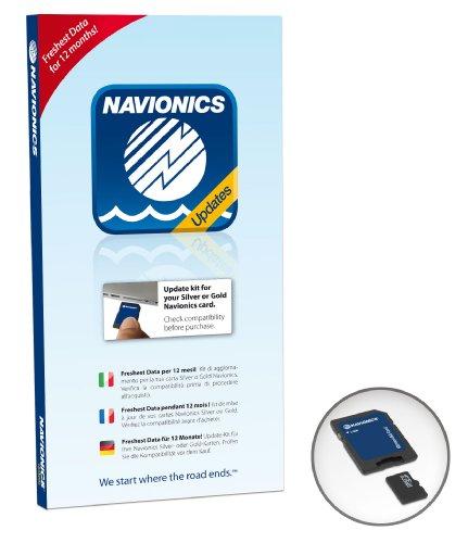 Navionics Updates (microSD) - Bathymetrische Karte