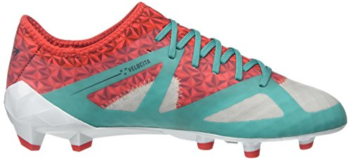 Umbro Velocita Iii Pro Hg, Chaussures de Football Homme Multicolor (Dawn Blue/Carbon/Fiery Red/Spectra Green Epe)