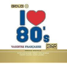 I Love 80's Variété Française (Coffret Metal 3 CD)