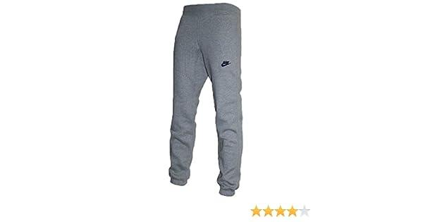competitive price good out x best sneakers Nike Polaire Jogger Pantalon Track Pantalon resserré Cousu Marine Charbon  Gris Clair Logo RRP £48 €