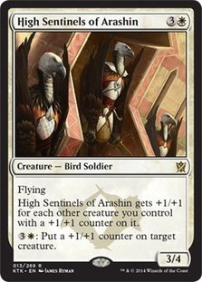Magic: the Gathering - High Sentinels fo Arashin - Khans of Tarkir by Wizards of the Coast (High Sentinels)