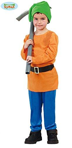 Wald Zwerg - Kostüm für Kinder Gr. 110 - 146, (Schneewittchen Zwerge Kostüme)