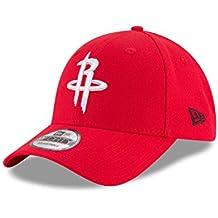 New Era the League 9Forty Houston Rockets Gorra, Hombre, Rojo, Medium