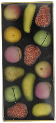 Luxury Shepcote Almond Marizpan Fruits 150g approx 14 fruits per Box