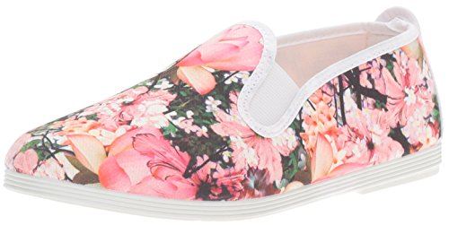 Flossy Classic Plimsoll Lorca Femme Chaussures Rose PINK|MULTI