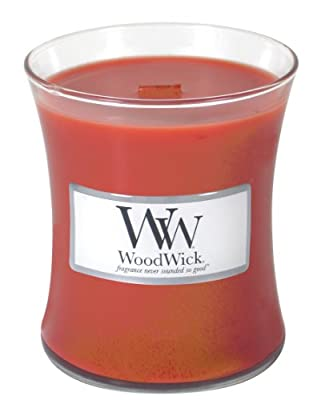 Woodwick Candle Cinnamon Chai 10oz from Woodwick Candle