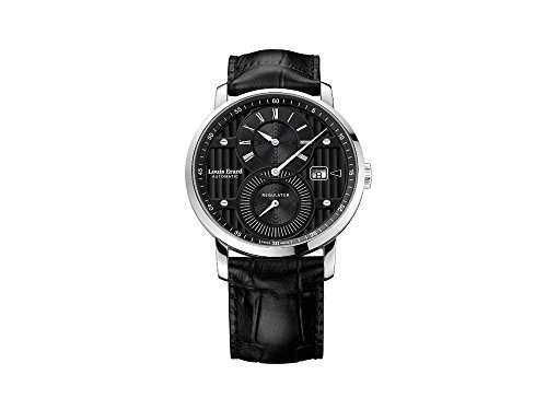 Montre Automatique Louis Erard Excellence Regulator, Noir, 40mm, 86236AA02.BDC51