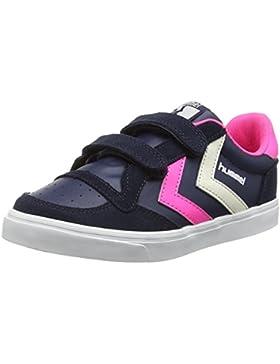 Hummel Stadil Leather Jr Lo Unisex-Kinder Low-Top