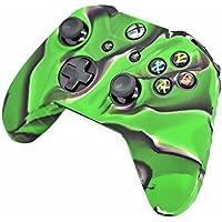 iProtect custodia protettiva in silicone per Skin in verde / nero - Microsoft Xbox One