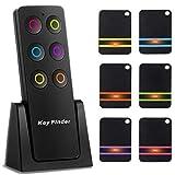Schlüsselfinder Wireless Key Finder mit 6 Empfängern, RF Item LocatorSupport Fernbedienung...