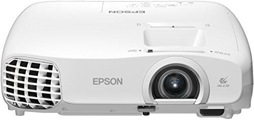 Epson EH-TW5100 LCD-Projektor (Full HD, 1080p, Kontrast1 3000:1, 1920 x 1080 Pixel, 1800 ANSI Lumen) weiß
