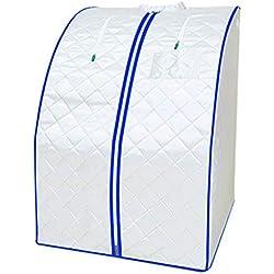 LIU UK Steam Sauna Tent Dampfsauna Tragbare Leichte Faltbare PersöNliche Home Spa Detox Gewichtsverlust Indoor Funktion Dampfer GanzköRper Gesundheit Detox Abnehmen Mit Timing-Funktion