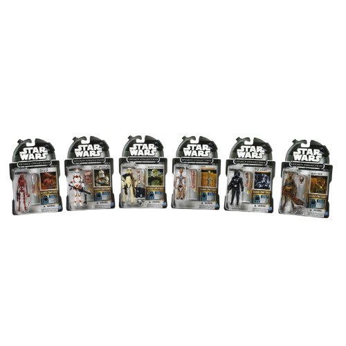 Star Wars Legacy Collection Droid Factory Action Figur, 6er Pack [Amazon Exklusiv] (Star Wars-droid-action-figuren)