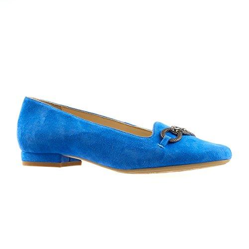 Van Dal Shoes Natick Pumps In Cobalt Blue Suede Im