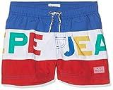 Pepe Jeans Jungen Pass Badehose, Mehrfarbig (Multi 0Aa), 6 Jahre (Herstellergröße: 6)
