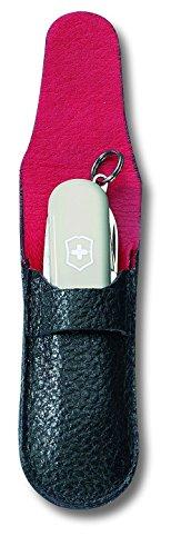 4100CpUtj4L - Victorinox Unisex Leather Pouch, Black, Small