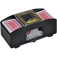Automatischer Kartenmischer Kartenmischmaschine Mischmaschine mit 2 Decks batteriebetrieben