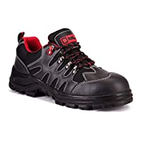 Black Hammer Mens Safety Boots Steel Toe Cap Shoes Work Ankle Trainers Hiker Midsole Protection S1P SRC 8891
