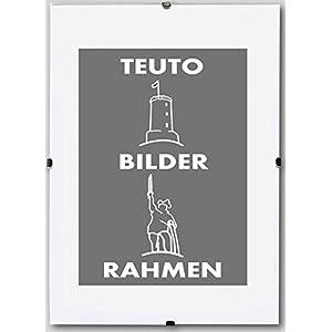 Teuto-Bilderrahmen Rahmenloser Bildhalter Celina 100 x 140 cm schlicht elegant 140x100 cm Mengenrabatt: Menge: 1 mit Kunststoffglas Antireflex 2mm
