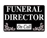 BESTATTER On Call dashcard Body Tasche Dash Karte Call Out Notruf Out Death Leichenwagen Totengräber