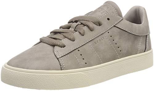 ESPRIT Damen Cherry LU Sneaker, Grau (Brown Grey 025), 39 EU