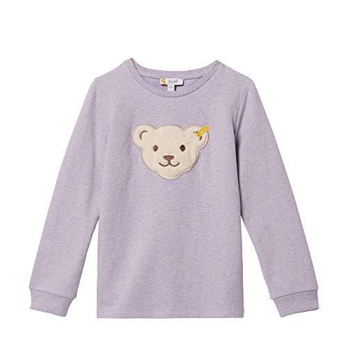 Steiff Mädchen Sweatshirt Quietsche Bär L00191 3211 (104, Pastel Lilac) -