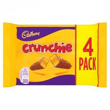 Crunchie Milk Chocolate with Honeycomb Center - Pack of 6 x 32g Bars by Cadbury (Hersheys Milk Chocolate Bar)