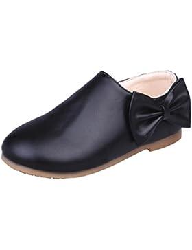 TPulling Mode Mädchen Kinder Freizeit Bogen Stiefel Herbst Und Winter Bowknot Sneaker Stiefel Zipper Freizeitschuhe