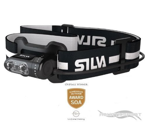 Silva Stirnlampe Headlamp Trail Runner II USB Adward GEWINNER