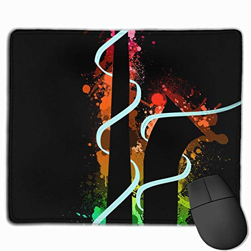 pad-Matte, Smooth Mouse Pad Colored Sax Mobile Gaming Mousepad Work Mouse Pad Office Pad ()