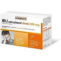 Ibu-ratiopharm direkt 200mg - NEU: Pulver zur direkten Einnahme OHNE Wasser preisvergleich bei billige-tabletten.eu