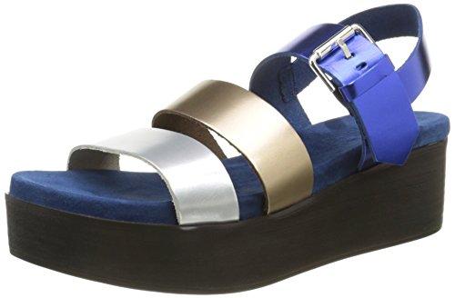 Elizabeth Stuart Damen Tabriz 382 3 Sandalen Blau - Azul (multi / Oceano)
