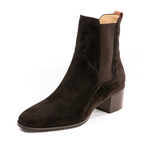 Gant Footwear Sandra Womens Suede Ankle Boot UK7 EU40 US9.5 Dark Brown