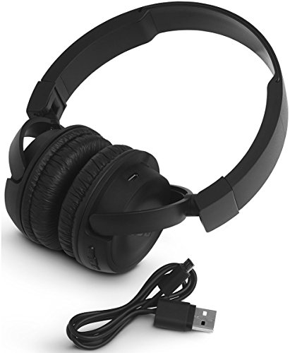JBL T450BT Kabelloser On-Ear Bluetooth Kopfhörer mit Integrierter Musiksteuerung und Mikrofon Kompatibel mit Apple und Android Geräten -Schwarz - 6