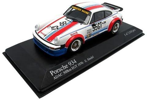 Minichamps - 400766455 - Véhicule Miniature - Porsche 934 Valvoline - Nurburgring 1976 - Echelle