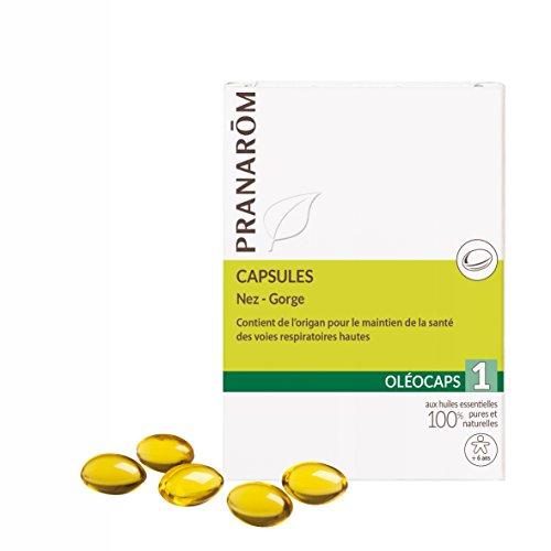 Pranarôm - OLEOCAPS - 1 - Nez - Gorge  - 30 capsules