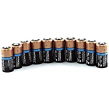 Pilas de litio Duracell CR123BU-10 Ultra, 123, bolsa flexible de 10 unidades.