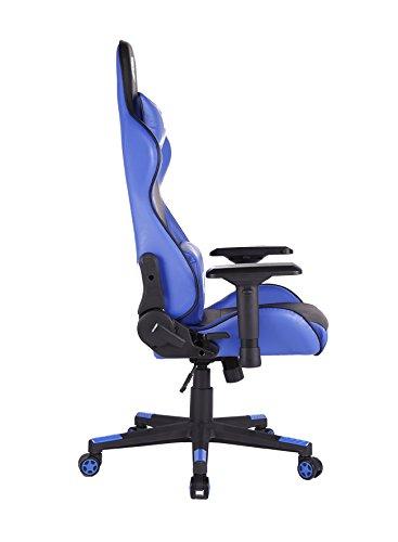 Silla 1337 Industries GC780/BL – Negra/Azul