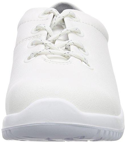 Abeba  Sicherheitsschuhe uni6 1780 Halbschuh   S2 küchengeeignet Stahlkappe, Chaussures de sécurité adulte mixte Blanc
