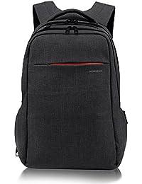 Norsens Notebook Laptop Rucksack 15,6 Zoll Gepolstert Wasserdichter Business Rucksack Damen Schwarz