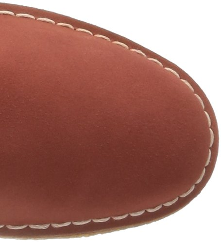 Clarks Desert Boot, Polacchine Uomo Rosso (Rouge (Chili))