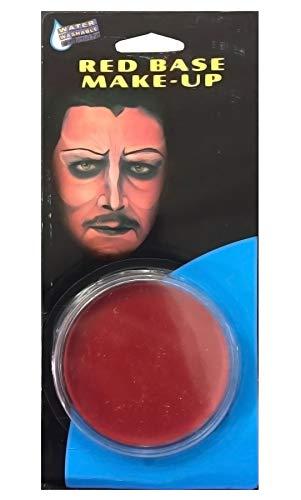 Islander Fashions Erwachsene Halloween Face Paint Basis Make Up Unisex Kost�mfest Zubeh�r Rot ()