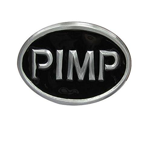 PIMP Verrücktes Kleid Cosplay Belt Buckle Gürtelschnalle Wappen