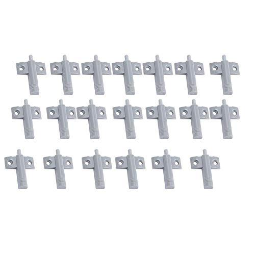 FTVOGUE 20pcs/lot Plastique Tampon Amortisseur pour tiroir Porte d'armoire Silencieux Plus près du Bruit réduire
