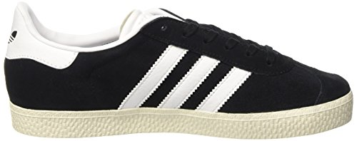 adidas Gazelle, Baskets Basses Homme Noir (Core Black/Ftwr White/Gold Metallic)
