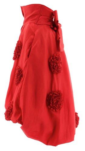 Wild Rose Ballonrock DUCHESS SKIRT Red