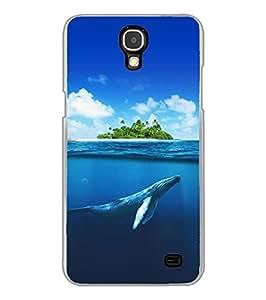 Fuson Designer Phone Back Case Cover Samsung Galaxy Mega 2 SM-G750H ( Marine Animals Are Endangered )