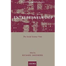 Entrepreneurship: The Social Science View